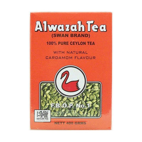 Alwazah Tea Ceylon with Natural Cardamom Flavor 360g