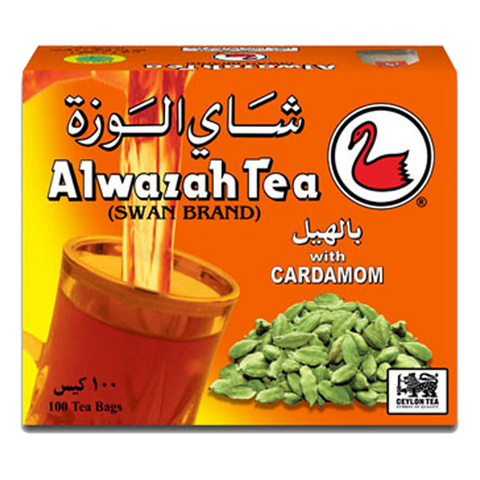 Alwazah Tea with Cardamom Flavor 100 Bags