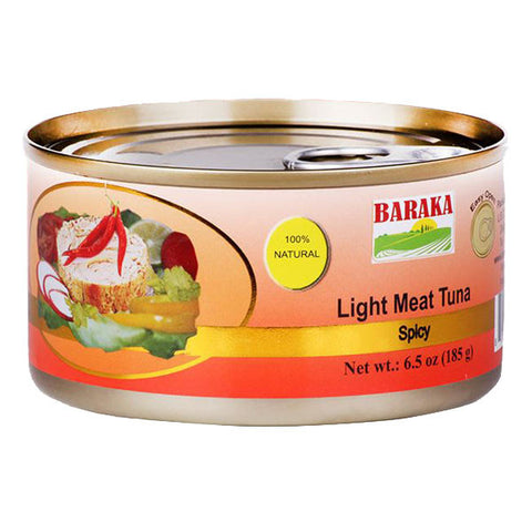 Baraka Light Meat Tuna in Oil with Chili 185g