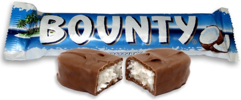 Bounty Milk Chocolate Bar [Case] 24x57g
