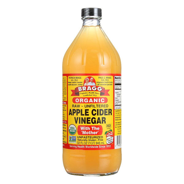 Bragg Organic Raw Unfiltered Apple Cider Vinegar 32 fl oz