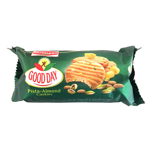 Britannia Good Day Pistachio Almond Cookies 75g (2.6oz)
