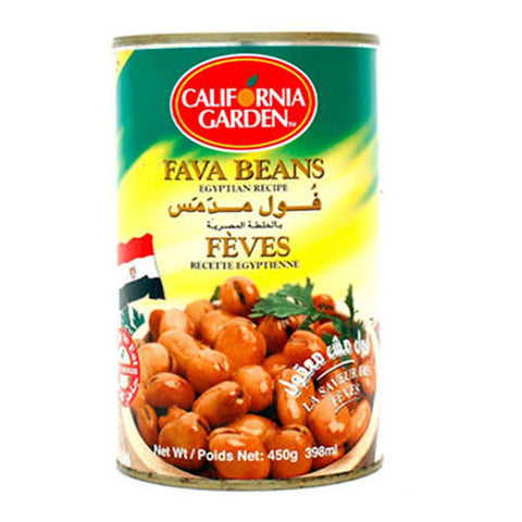 California Garden Fava Beans Egyptian Recipe 450g