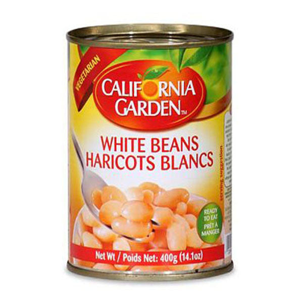 California Garden White Beans 450g