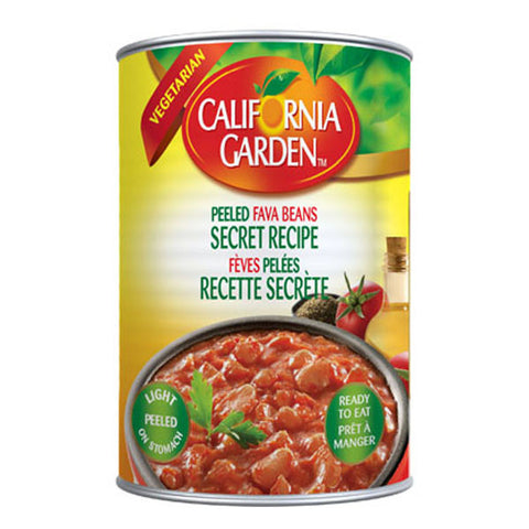 California Garden Fava Beans Peeled with Secret Recipe 450g