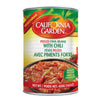 California Garden Fava Beans Peeled with Chili 450g