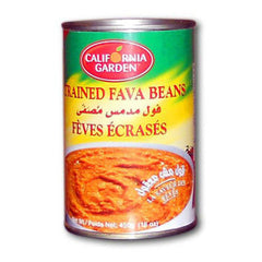 California Garden Fava Beans Strained or Ground 450g