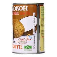 Chaokoh Coconut Milk 13.5 ounce or 400ml