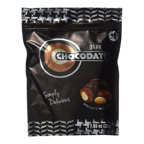 Chocodate Dark Chocolate with Almond 225g or 7.93oz