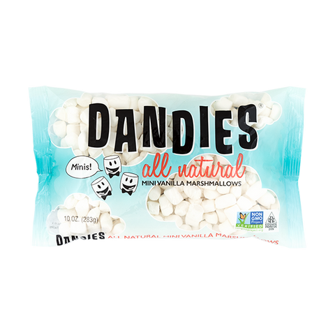 Dandies All Natural Mini Vanilla Marshmallows 10oz