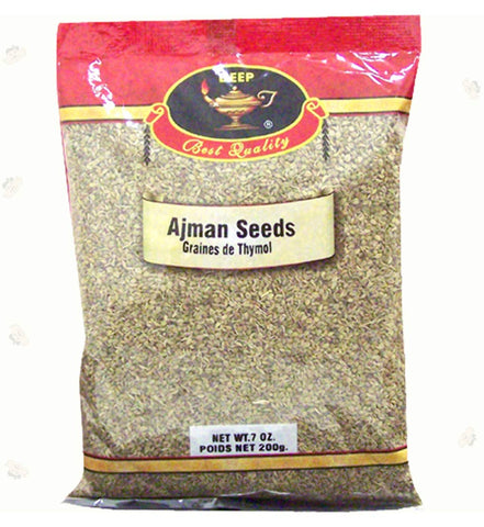 Deep Ajwain Seeds or Ajman Seeds 7oz