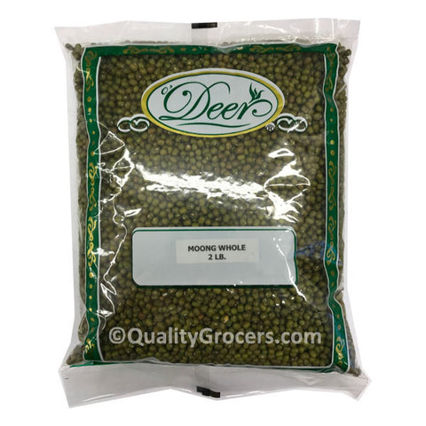 Deer Whole Moong Dal Mung Bean 2LB