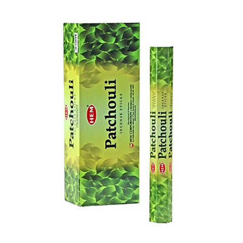 Hem Patchouli Incense Sticks Box 120 Sticks