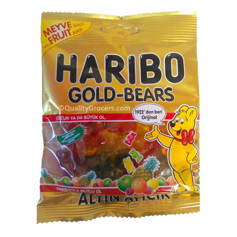 Haribo Halal Gold Bears Candy 80g