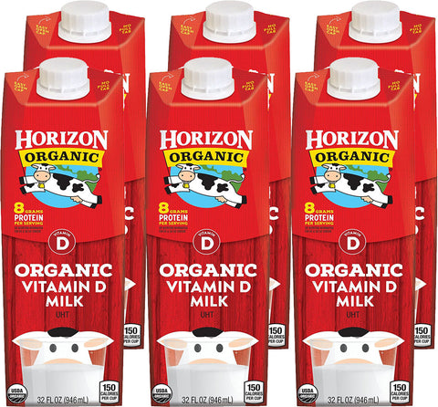 Horizon Organic Whole Milk Vitamin D 32 Fl oz