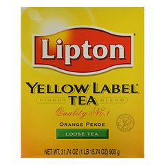 Lipton Yellow Label Orange Pekoe Loose Tea 900g