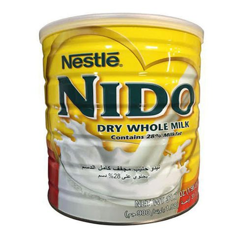 Nestle Nido Dry Whole Milk 900g