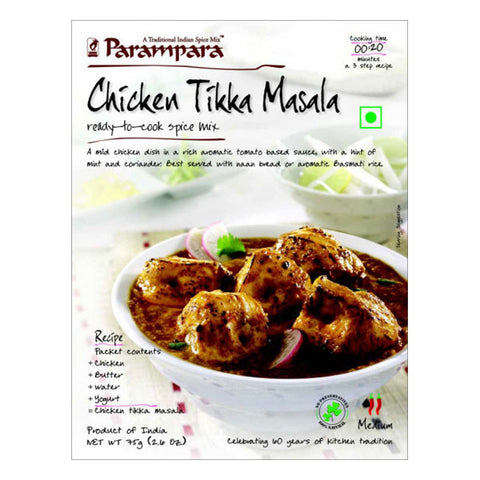 Parampara Chicken Tikka Masala Ready To Cook Spice Mix