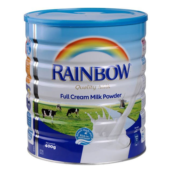 Rainbow Full Cream Milk Powder 400g