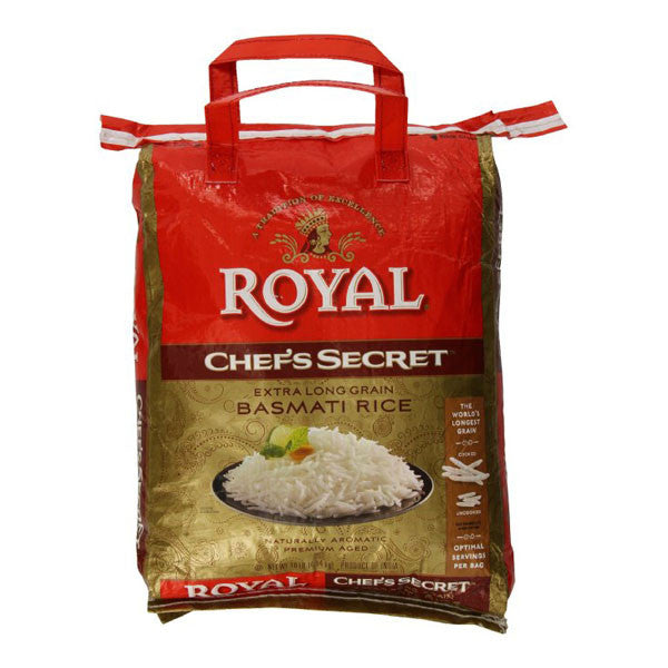 Royal Chef's Secret Extra Long Basmati Rice 10lb