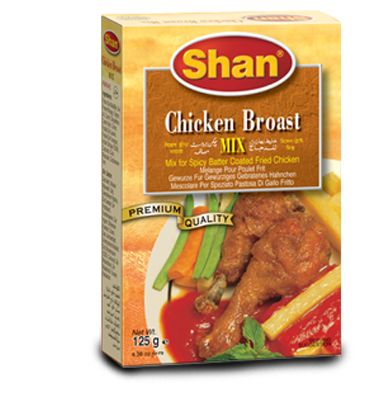 Shan Chicken Broast BBQ 125g
