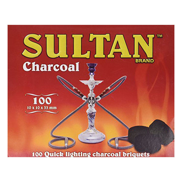 Sultan Charcoal 100 Quick Lighting Briquets