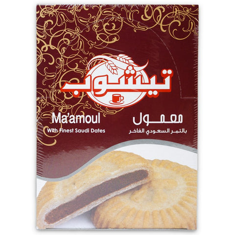 Teashop Ma'amoul (Maamoul) Date Filled Cookies 480g