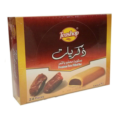 Teashop Thikriyat Premium Date Filled Cookie Bar 624g