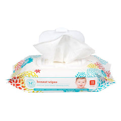 The Honest Company Unscented Honest Baby Wipes - 72 Wipes