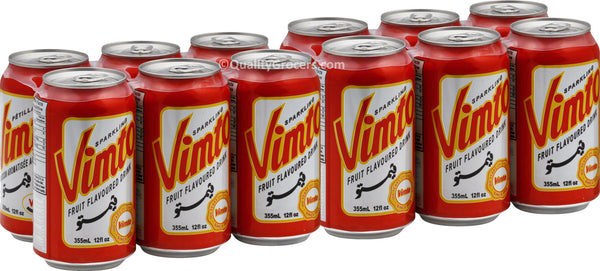 Vimto Fruit Flavored Drink (Pack of 12) 12oz