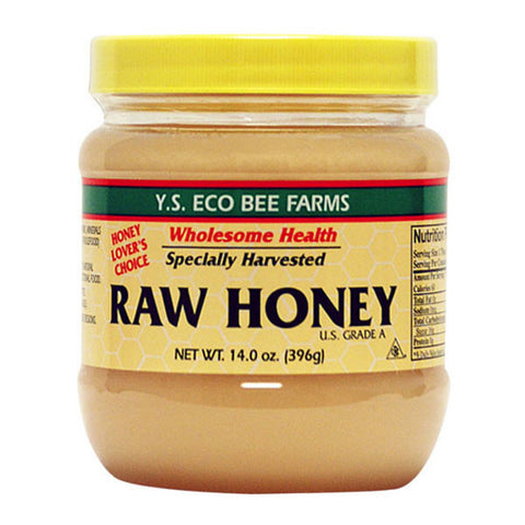 YS Eco Bee Farms Raw U.S. Grade A Honey 14oz