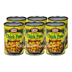 Ziyad Chick Peas Garbanzo Beans 439g or 15.5 ounce