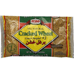 Ziyad Cracked Wheat Burghul #3 Coarse