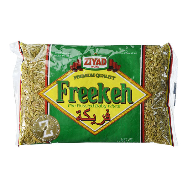 Ziyad Freekeh Fire Roasted Baby Wheat 1LB