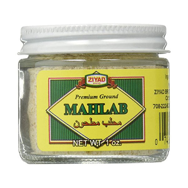 Ziyad Ground Mahlab Premium Quality 1oz