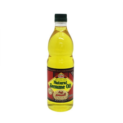 Ziyad Natural Sesame Extra Virgin Oil 26oz