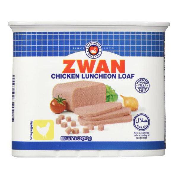 Zwan Luncheon Halal Chicken Meat Loaf 12oz