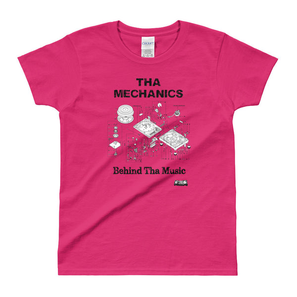"""Mechanics"" Ladies' T-shirt"