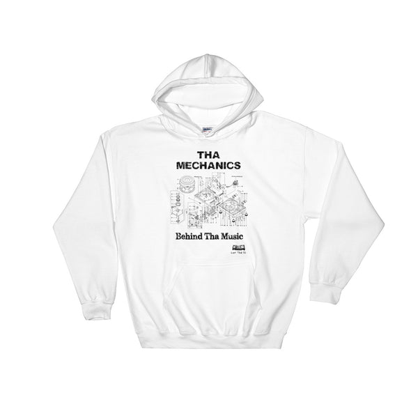 """Mechanics"" Hooded Sweatshirt"
