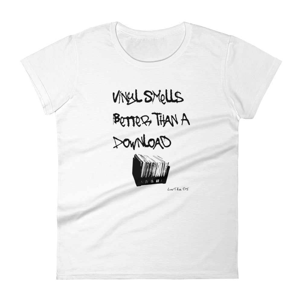 """Vinyl"" Women's short sleeve t-shirt"