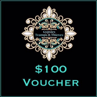 $100 Gift Voucher - Gypsies, Tramps & Thieves. Hervey Bay 4655. https://gypsies-tramps-thieves.myshopify.com/products/100-gift-voucher