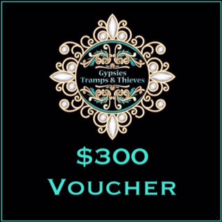 $300 Gift Voucher - Gypsies, Tramps & Thieves https://gypsies-tramps-thieves.myshopify.com/products/300-gift-voucher