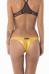 Stellar Dust Aphrodite Bikini Bottoms Gold, Stellar Dust - kinilush