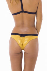 STELLAR DUST Astra Bikini Bottoms Gold, Stellar Dust - kinilush