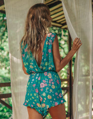 ULU HELLE ROMPER SEASIDE DAISY, ULU THE LABEL - kinilush
