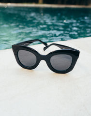 EIGHTY6 HAVANA BLACK SUNGLASSES, Eighty6 - kinilush