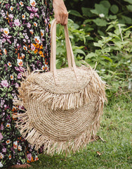 ULU THE LABEL KOMODO RAFFIA BAG, ULU THE LABEL - kinilush