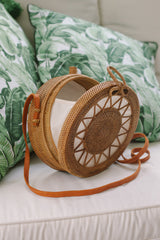 ULU THE LABEL NAKULA ROUND BAG, ULU THE LABEL - kinilush