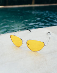 EIGHTY6 BARCA YELLOW SUNGLASSES