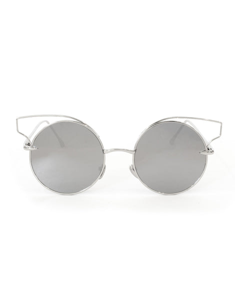 Eighty6 KIT Silver Sunglasses